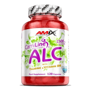 CarniLine ALC con Taurina y Vitamina B6 120 caps AMIX