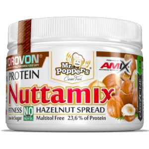 Crema de Avellanas Proteica Nuttamix 250 gr AMIX