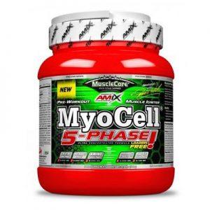 MyoCell 5 Phase 500gr Pre-entreno Amix