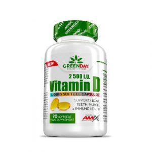 Vitamina D 2500 I.U 90